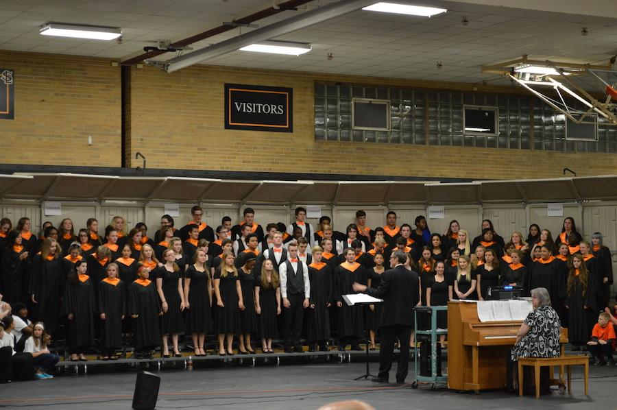 Choir earns top score at contest