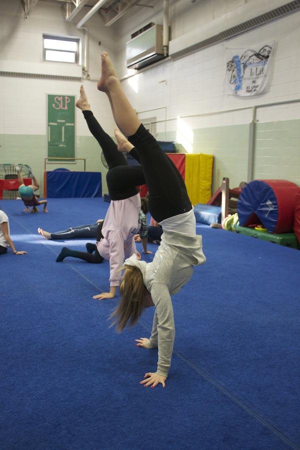 Gymnastics+begins+training