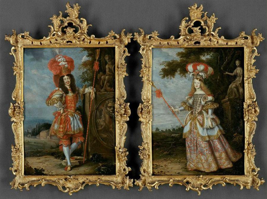 2015_ViennaExhibition_017.tif Margarita Teresa & Emperor Leopold I-framedKunsthistorisches Museum, Vienna