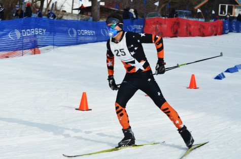 Boys' Nordic wins sections