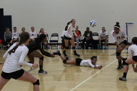 Girls' volleyball strives for success