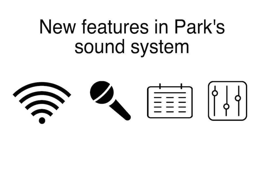 Auditorium sound system updated