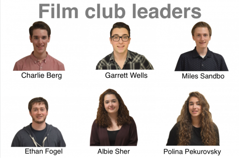 Film club leaders prepare for first meeting