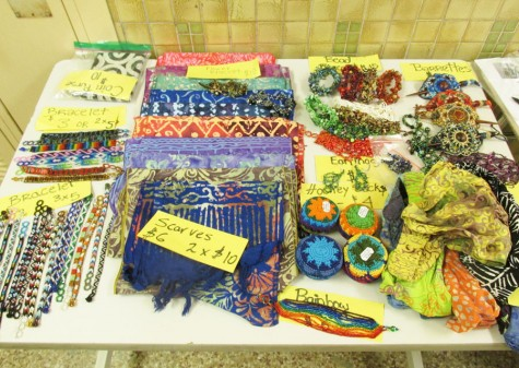 Students going on the Spain trip sold Guatemalan jewelry and Thai crafts Oct. 22 and 27 for conferences, and Oct. 26 and 27 during fifth hour lunch. The fundraiser raised money for the Spain trip occurring June 15 to July 1.