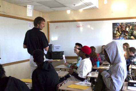 New math teacher strives to break boundaries
