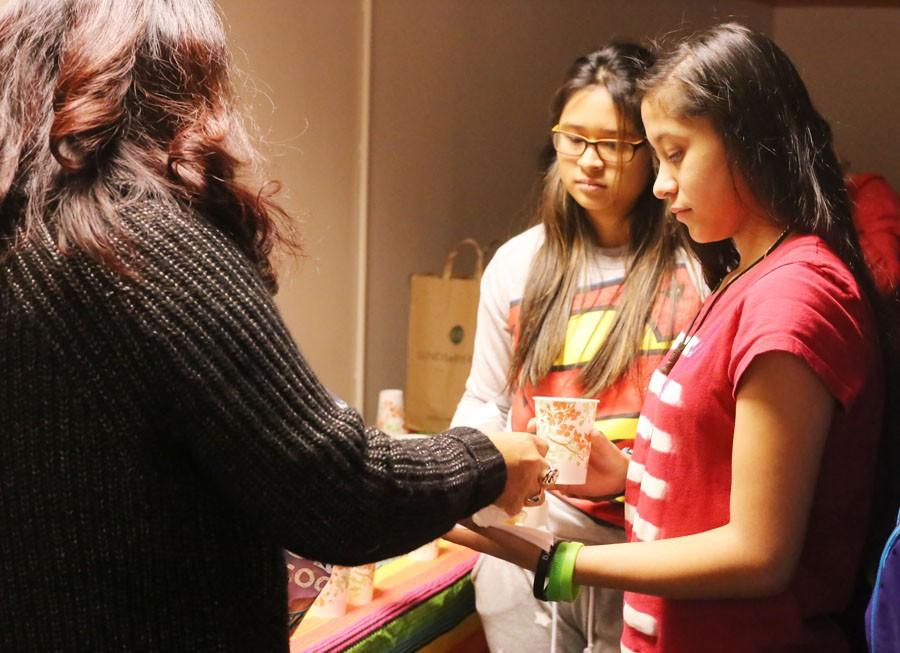 Students of the Latino Student Association get a taste of different cultures with food from different countries.