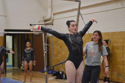 Freshman gymnasts impact team