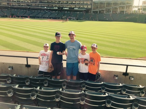 Freshman plans to see all Major League baseball fields