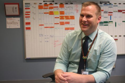 Scott Meyers discusses his first year as principal. He shares some of his new goals for upcoming years as well as the goals he achieved this year.