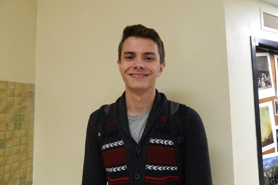 Senior Ryan Gemilere