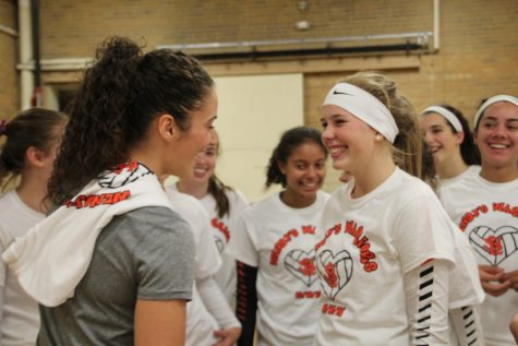 Volleyball dedicates game to Coach's mother