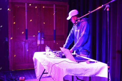 Junior Joe Holloway showcases his DJ skills from 8 pm to 9 pm at The Depot Coffeehouse, Sept. 23.