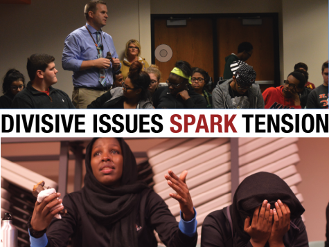 Divisive issues spark tension