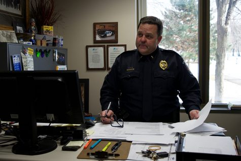 Interim police chief in place