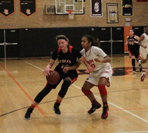 Girls' basketball combats sickness, beats Benilde
