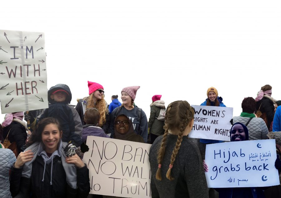 Protests provide voice in political climate