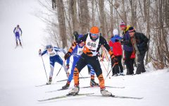 Senior skier competes at State