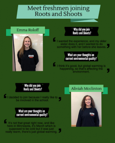 Meet freshmen joining Roots and Shoots