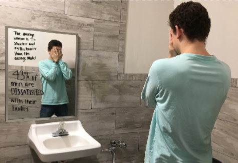 Distorted body image mirrored by media