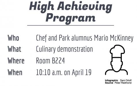 High Achieving Program prepares to host Park alumnus