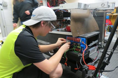 Robotics team reflects on season
