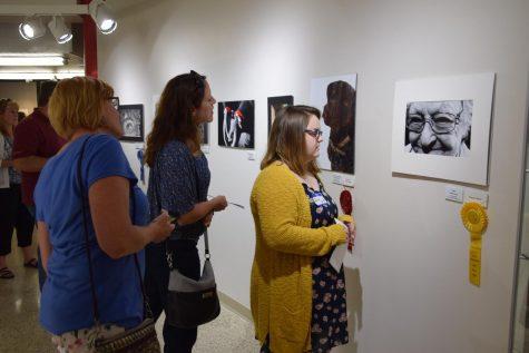Seniors win at Metro West art show
