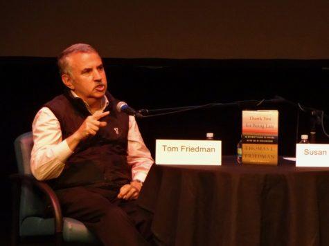 Thomas Friedman returns to Park