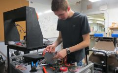 George Hare brings leadership to Robotics Club