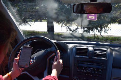 Losing focus at the wheel