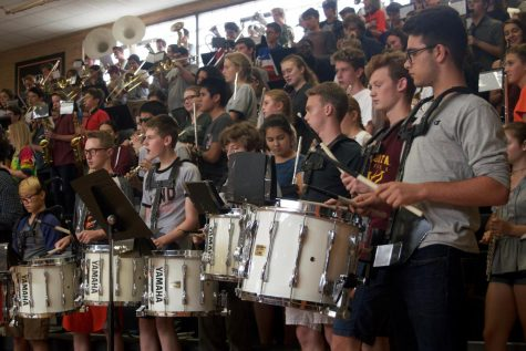 Band prepares for eventful year