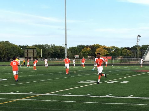 Boys' soccer snags win against rival