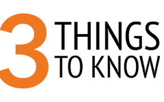 3 things to know: Week of Oct. 22
