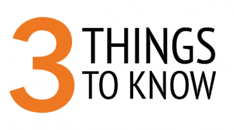 3 Things to Know: Week of Oct. 9