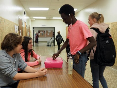 Student council raises breast cancer awareness