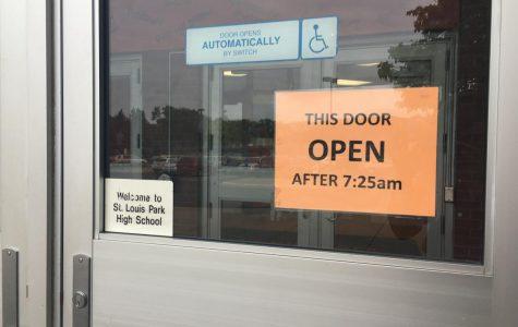 New door policy impractical