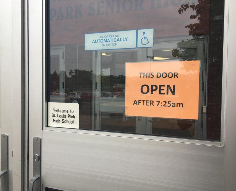 open school doors. New Door Policy Impractical Open School Doors E