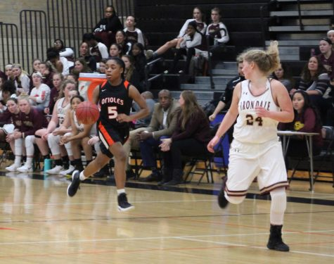 Girl's basketball wins against Irondale