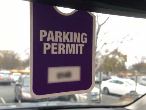 Parking passes do not guarantee spot