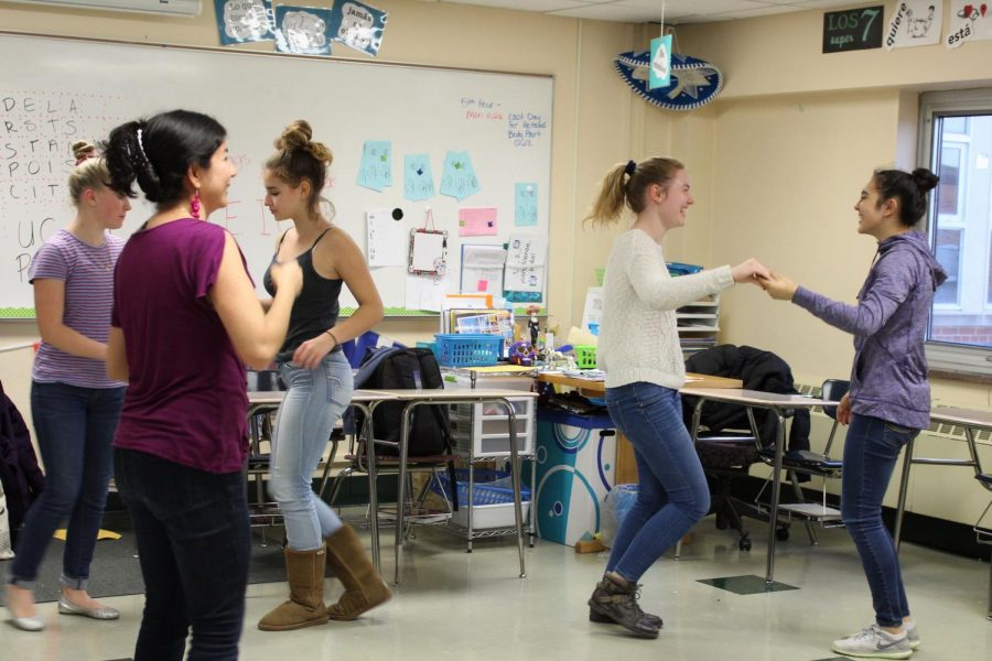 Spanish club combines fun and education