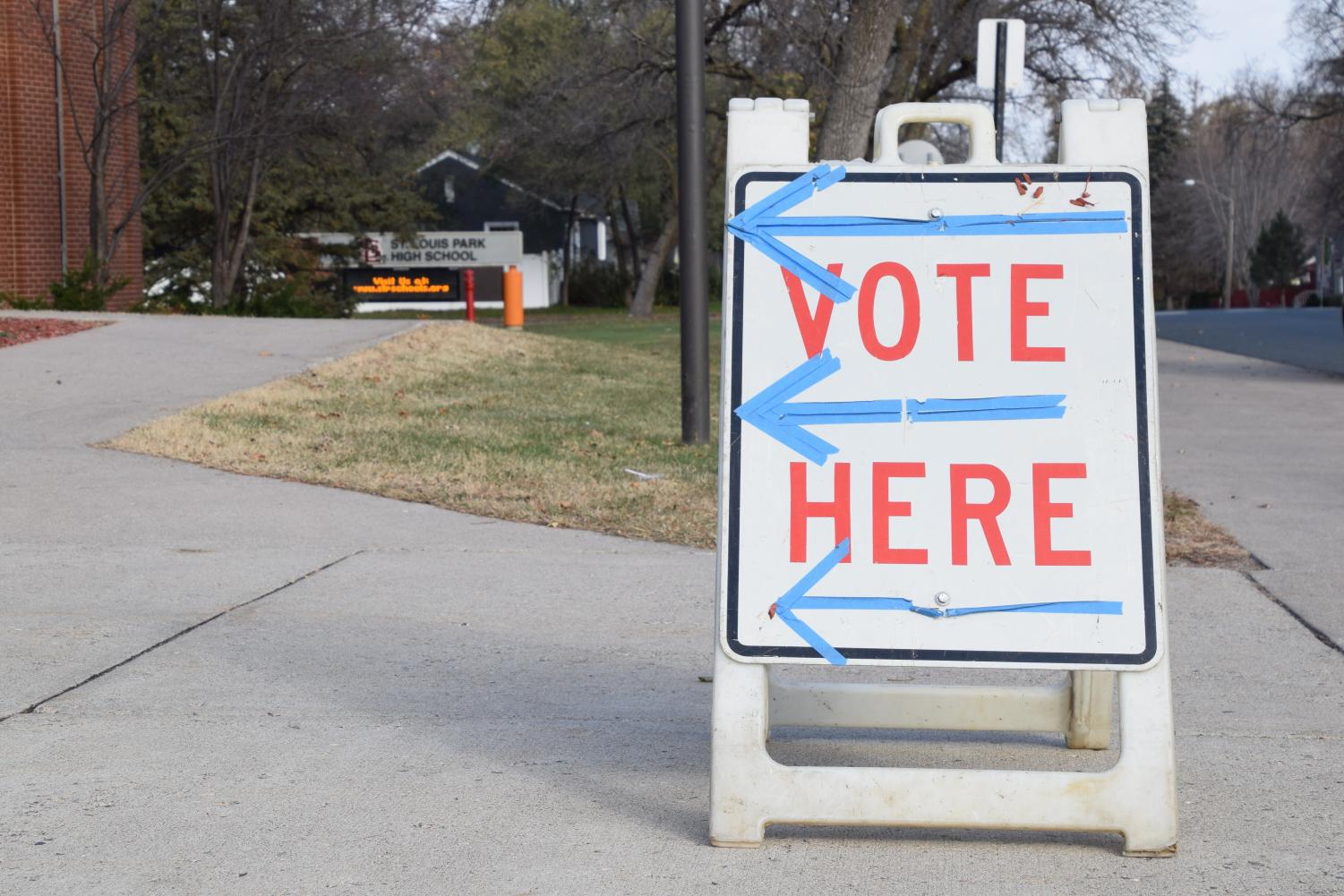 Park residents voted at various locations around Park, including the High School on Nov. 7. Tuesday's voting will elect the new city council and school board members as well as decide the status of the referendum.