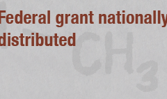 Federal grant nationally distributed