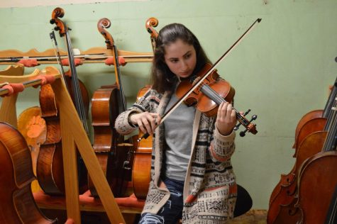 Senior violinist enjoys five years in symphony program