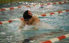 Boys' swimming defeats Bloomington Jefferson