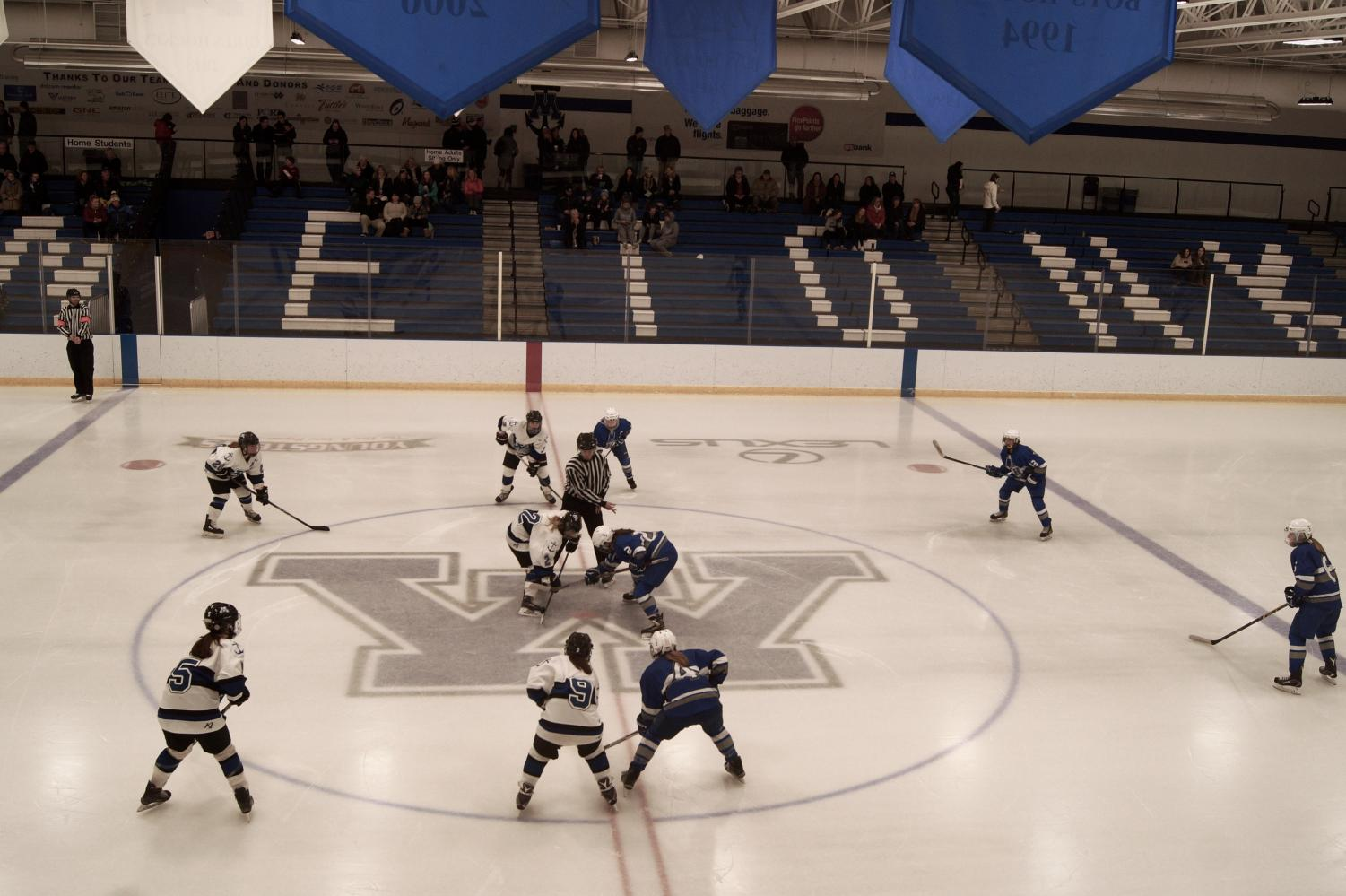 The second period resumes for the Hopkins-Park away game at Minnetonka. Hopkins-Park lost 6-1 against Minnetonka Jan. 2.