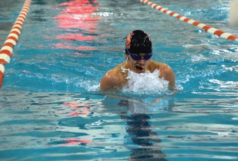 Boys' swimming beats St. Paul Academy and Summit 54-40