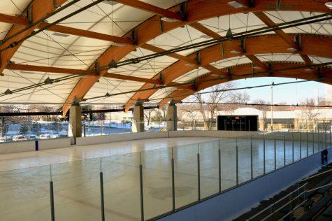 Rec Center hosts Minnesota Wild practice