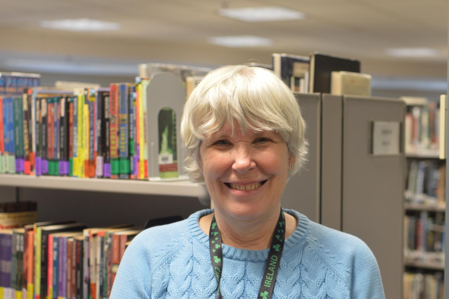 Library media specialist Ellen George was diagnosed with stage four uterine cancer in 2005. George reflects on her battle to beat the disease.