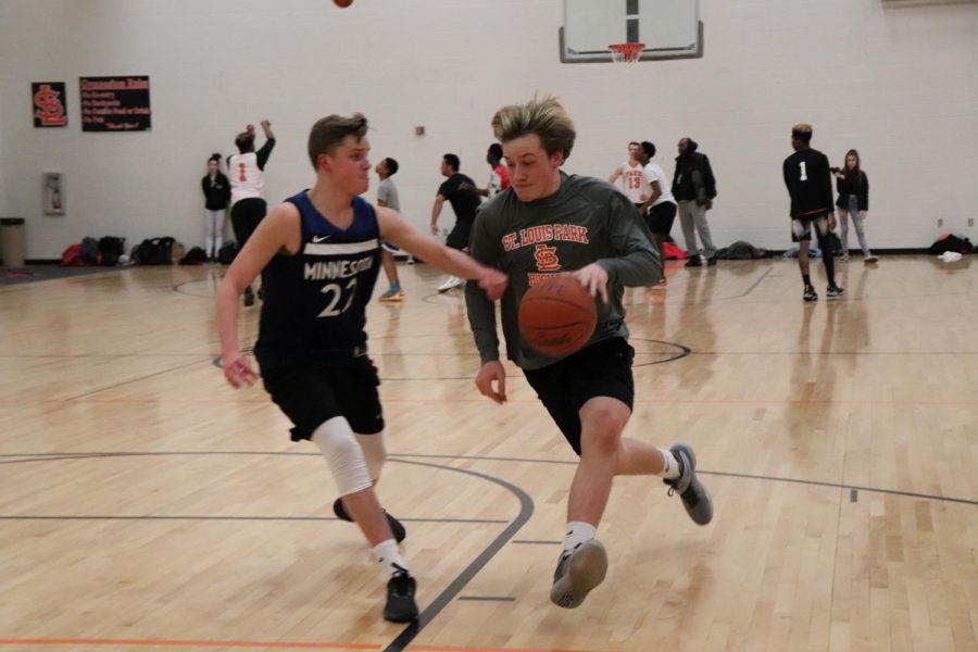 Student Council hosts three-on-three basketball