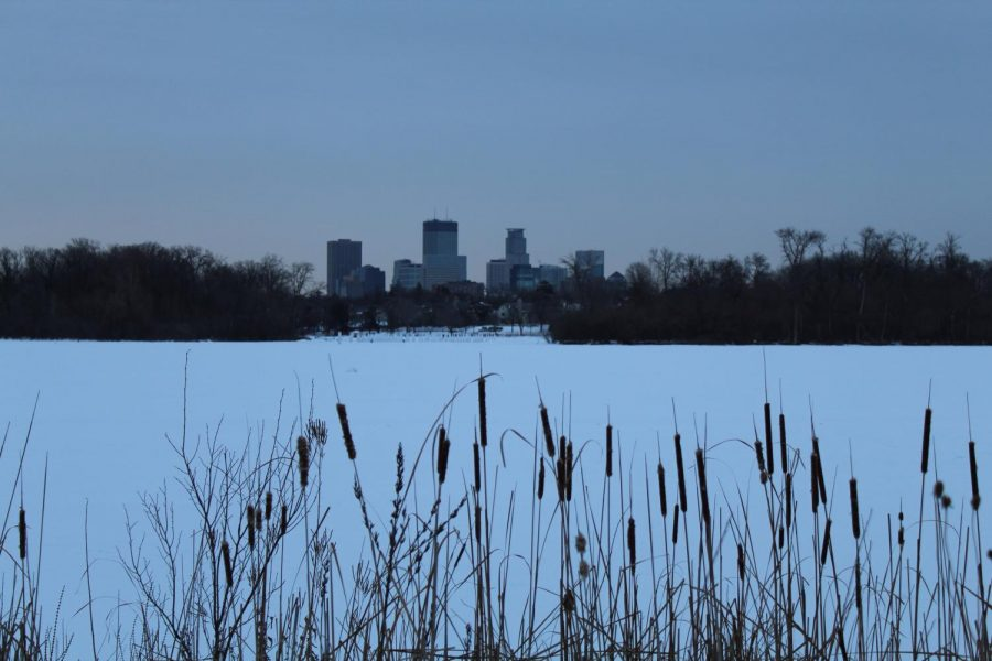 The 2018 Luminary Loppet takes place Feb. 3 on the frozen Lake of the Isles in Minneapolis.