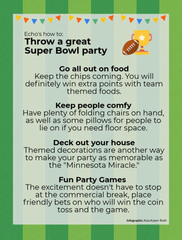 Echo's how to: Throw a great Super Bowl party